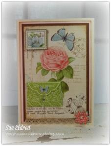 Botanical Tea Envelope