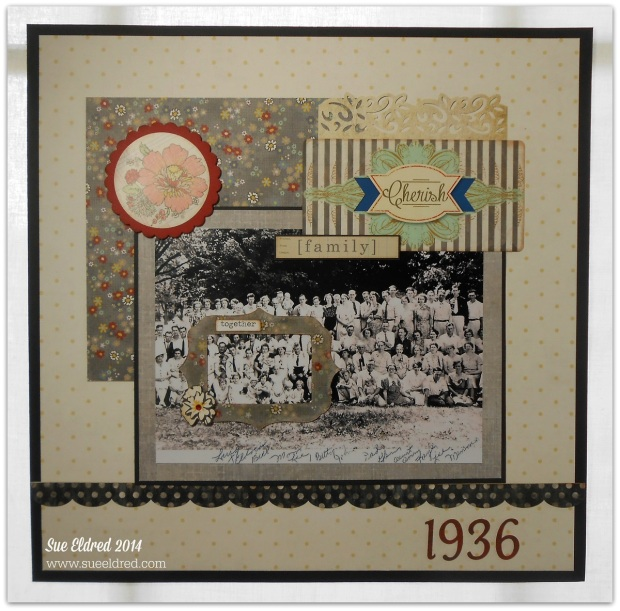 Cherish Family 1936 layout