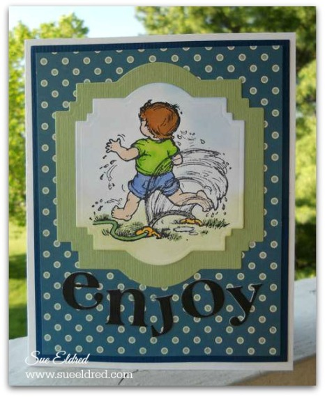 Serendipity Stamps Sprinkler Card