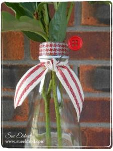 Washi Tape Vase Details