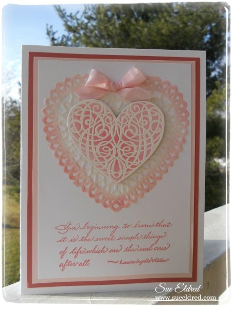 Heart Scroll Card