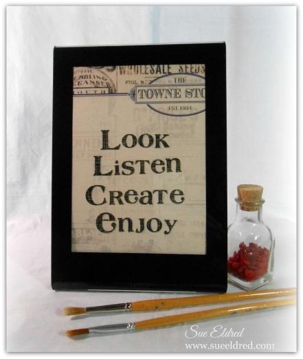 Look Listen Create Enjoy