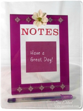 Note Holder Clear