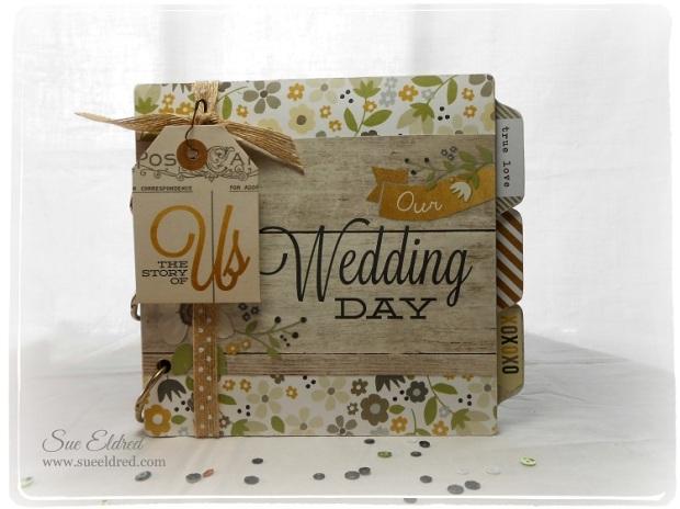 Our Wedding Day Brag Book