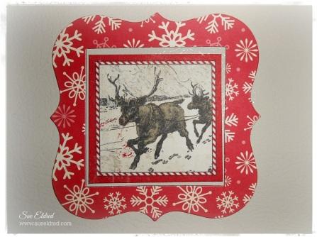 Deflecto Christmas Magnets