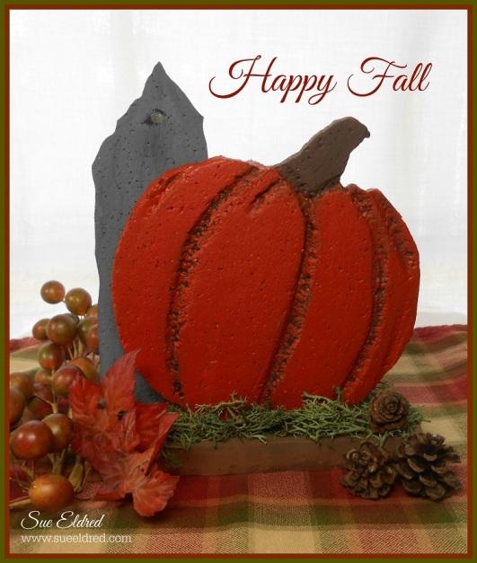 Smoothfoam Fall Pumpkin