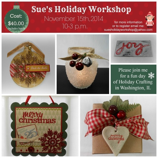Holiday Workshop Collage 2014