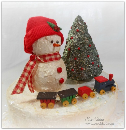 Smoothfoam Snowman and Tree