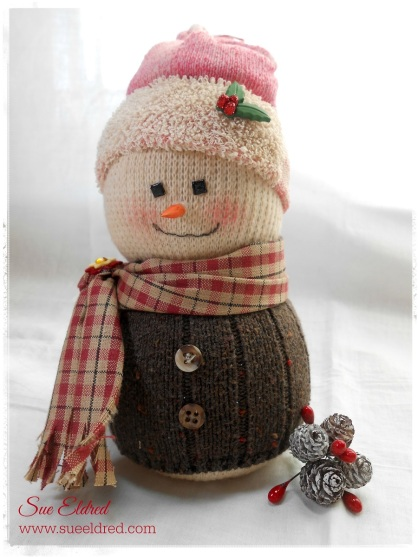 Updated Sock Snowman