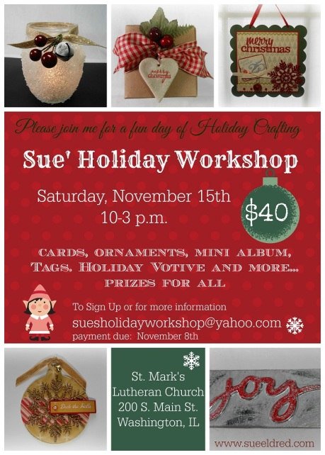 Holiday Workshop Post Card