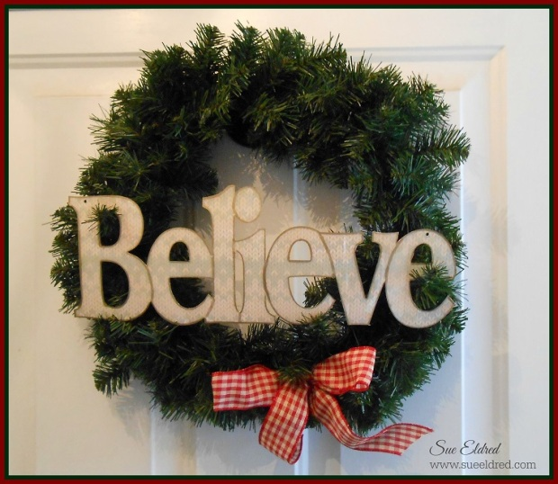 Believe Wreath