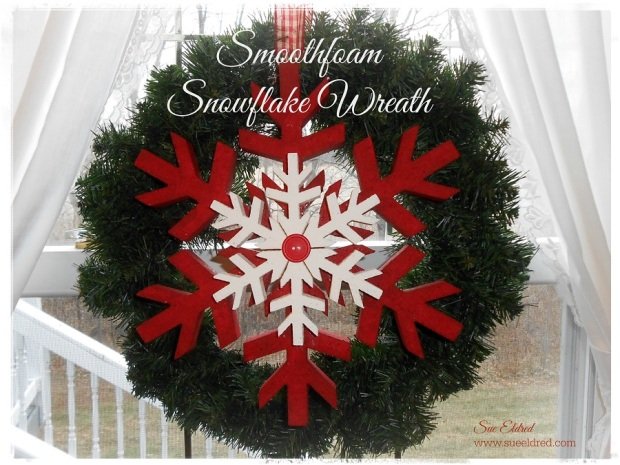 Smoothfoam Snowflake Wreath 2535