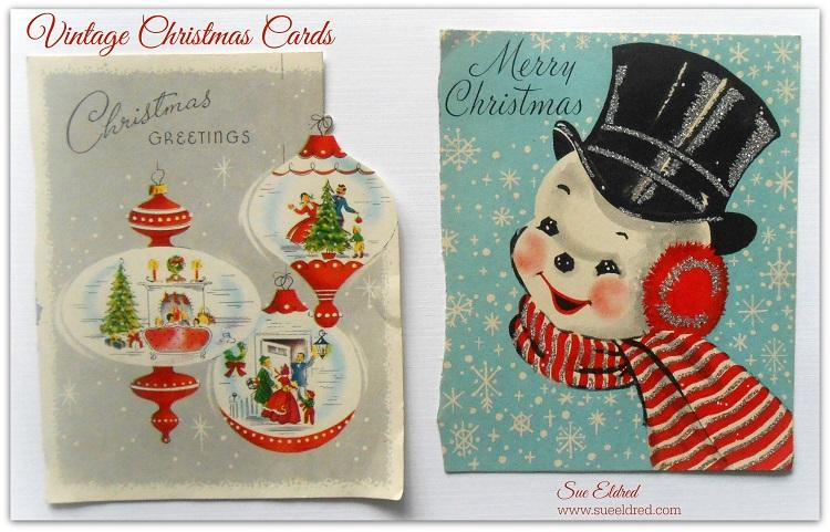 vintage christmas cards sues creative workshop