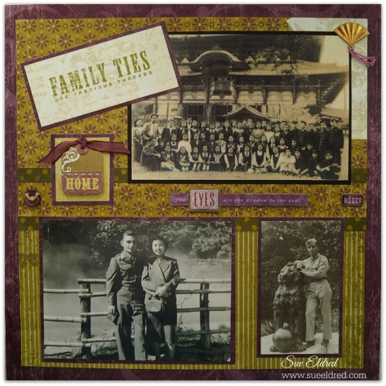Family Ties Layout 1657