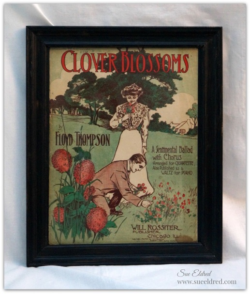 Framed Clover Blossoms