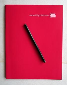 Plain 2015 Planner