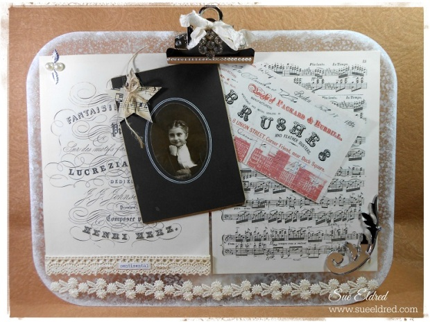 Shabby Clipboard 2509