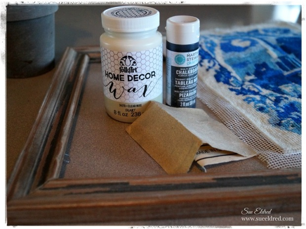 Vintage Frame Project Supplies