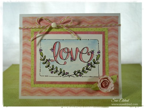 Adorn It Love Card 2118