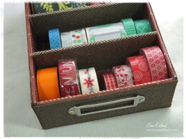 Cigar Box Washi Tape Holder 2808