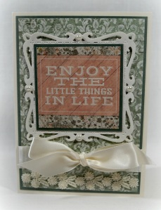 Enjoy The Little Things in Life 1718