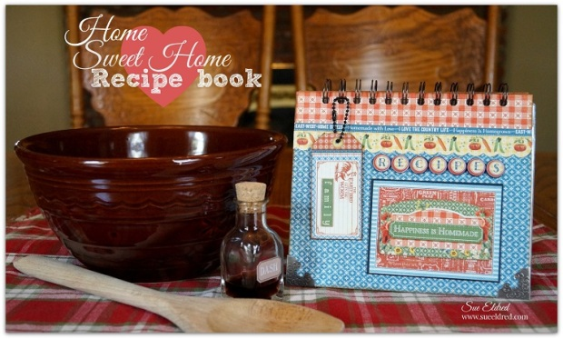 Graphic Home Sweet Home Recipe Book 215