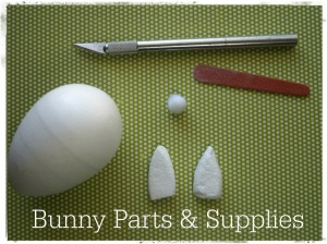 Bunny Parts and Supplies 3178