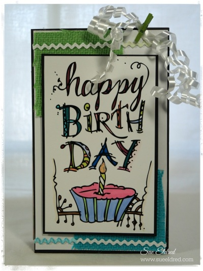 Tattered Tangles Birthday Tag 3368
