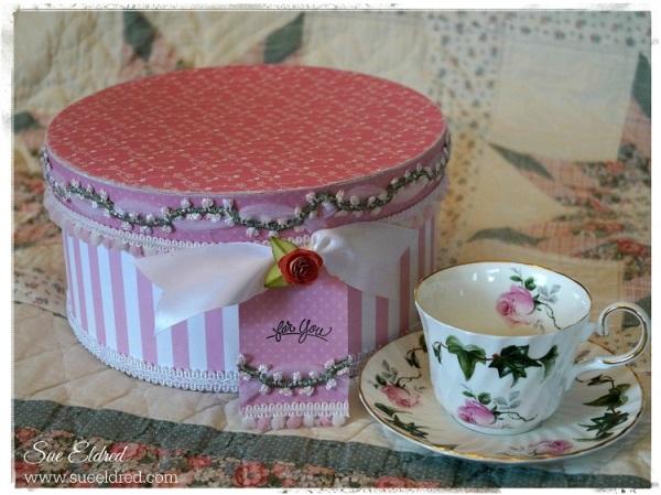 Sue Eldred's Keepsake Memory Box