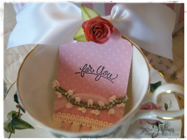 Tea Cup and Tag 4969