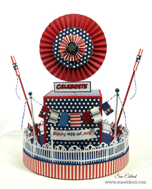 4th of July Centerpiece 2