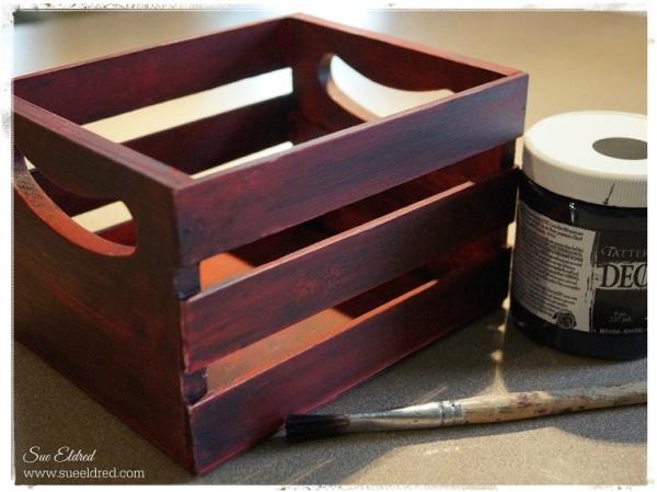Paint a thin coat of black paint 5182
