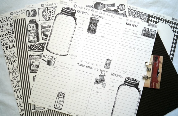 Recipe Book Papers 04159