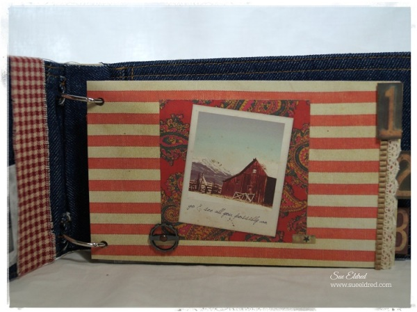 American Vintage Dungaree Album Page #1 6673