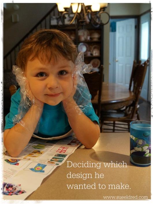 Choosing the design