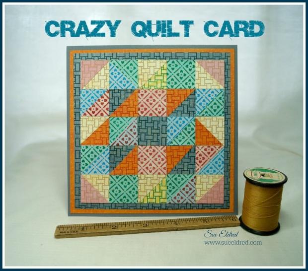 Crazy Quilt Card 2