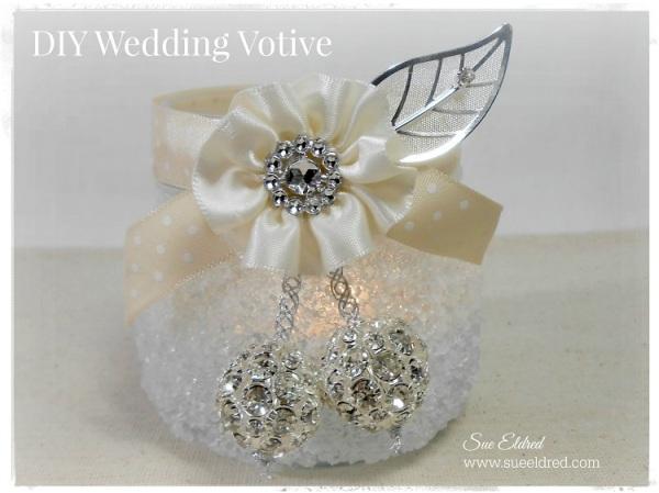 DIY Wedding Votive