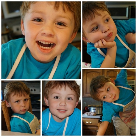 Many Faces of Nick Collage