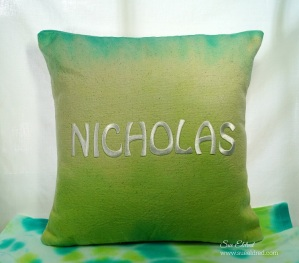 Nick's Tie Dye Pillow 6430