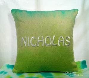 Nick's Tie Dye Pillow 6430