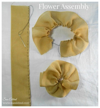 Ribbon Flower Assembly 2123