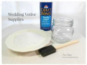 wedding votive supplies