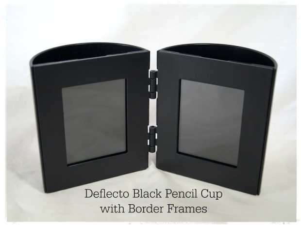 Deflecto Black Pencil Cup 6944