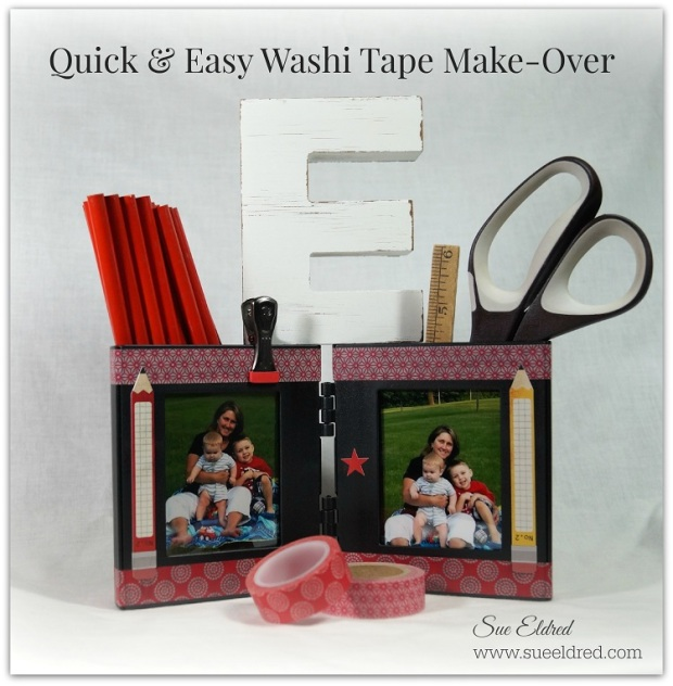 Quick & Easy Washi Tape Make Over 7015