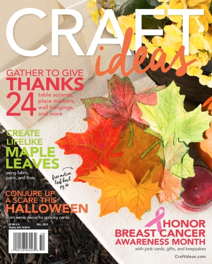 Craft Ideas Fall 2015 cover