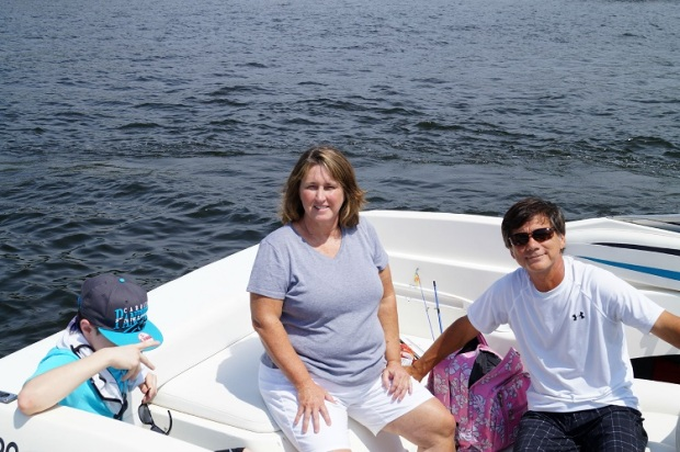 on the boat 8111