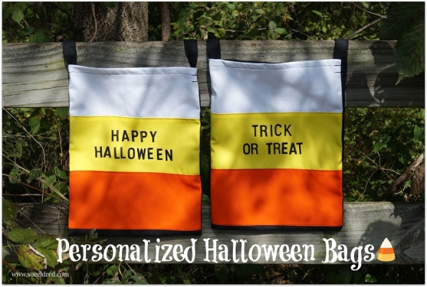 Personalized Halloween Bags 9602