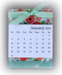 Mini Desk Calendar 9703 2