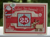 Santa Card 9865