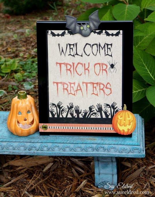 Welcome Trick or Treaters 9833